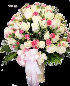 แจกันดอกไม้ C06