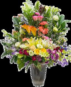 แจกันดอกไม้ C07