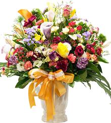 แจกันดอกไม้ C10