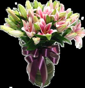 แจกันดอกไม้ C14