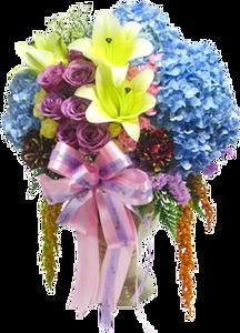 แจกันดอกไม้ C17