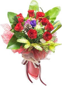 ช่อดอกไม้ A34