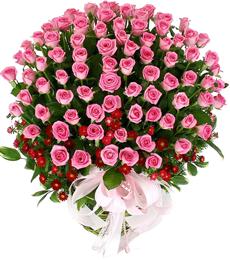 กระเช้าดอกไม้ B01