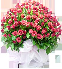 กระเช้าดอกไม้ B02