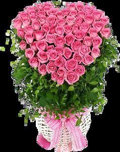 กระเช้าดอกไม้ B05