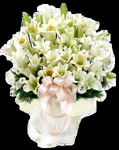 กระเช้าดอกไม้ B08