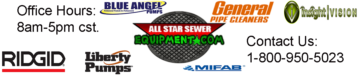 Shop our Wide Variety of Sewer Cameras, Drain Machines, Pipe Threaders, Sewage Pumps, Grease Traps, Drain Cables, Water Jetters, Line Locating, Water Leak Detection, and much more!