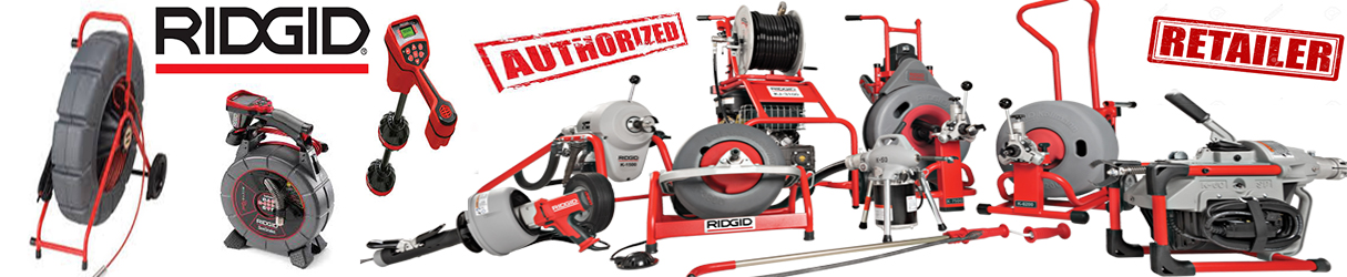 Ridgid Seesnake and Drain Cleaning Authorized Dealer