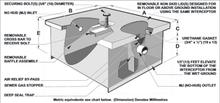 MIFAB MCL-G-6 Hydro Mechanical Grease Interceptor