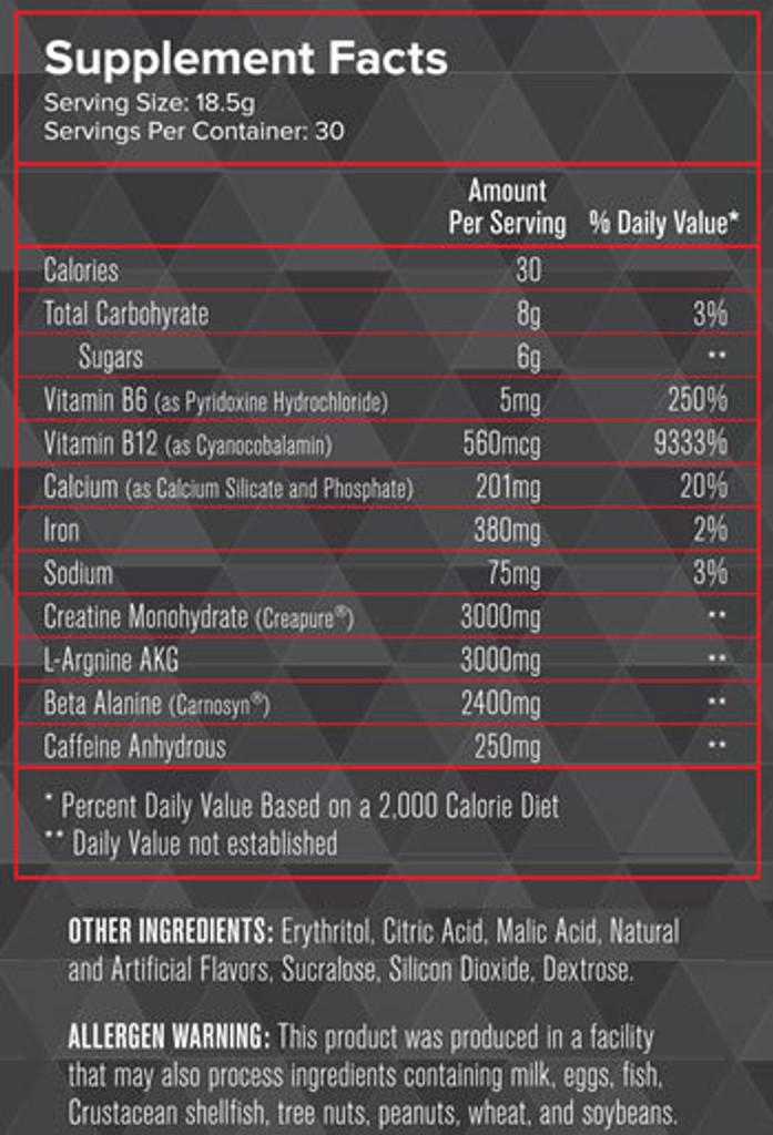Intensity Nutrition - Fuel
