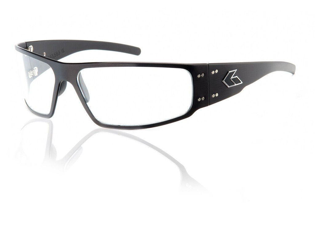 Black Frame w/ Clear Lens