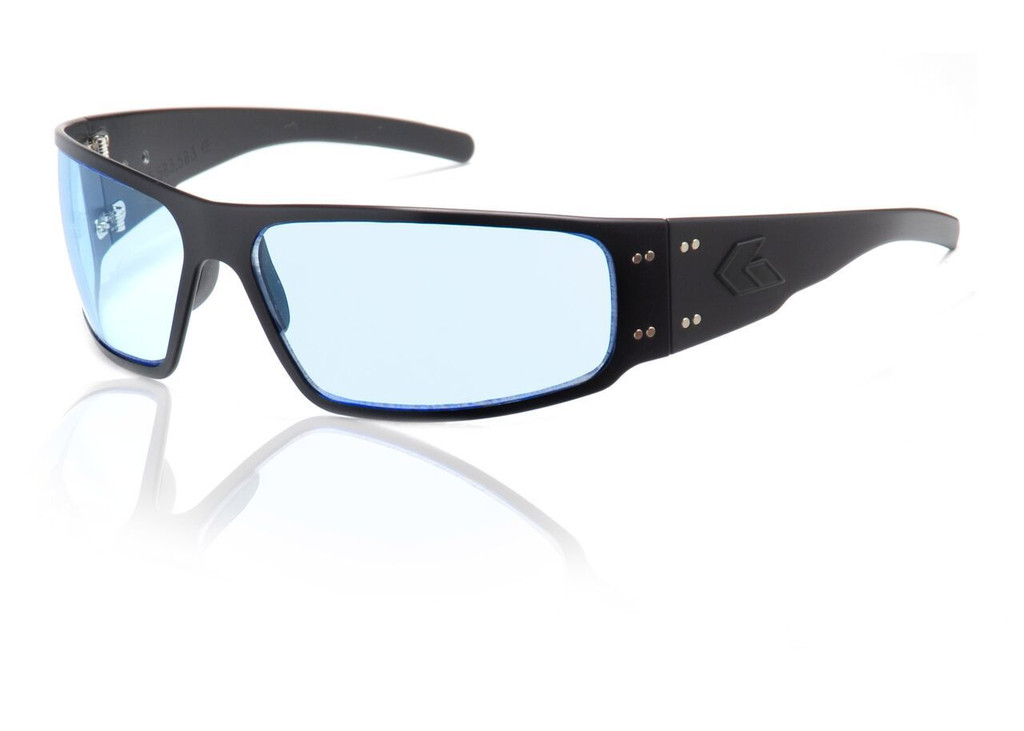 Black Frame w/ Blue Lens