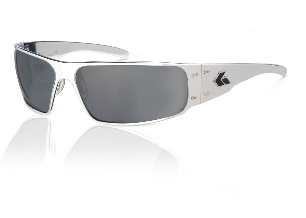 Polished Frame w/ Grey Chrome Lens