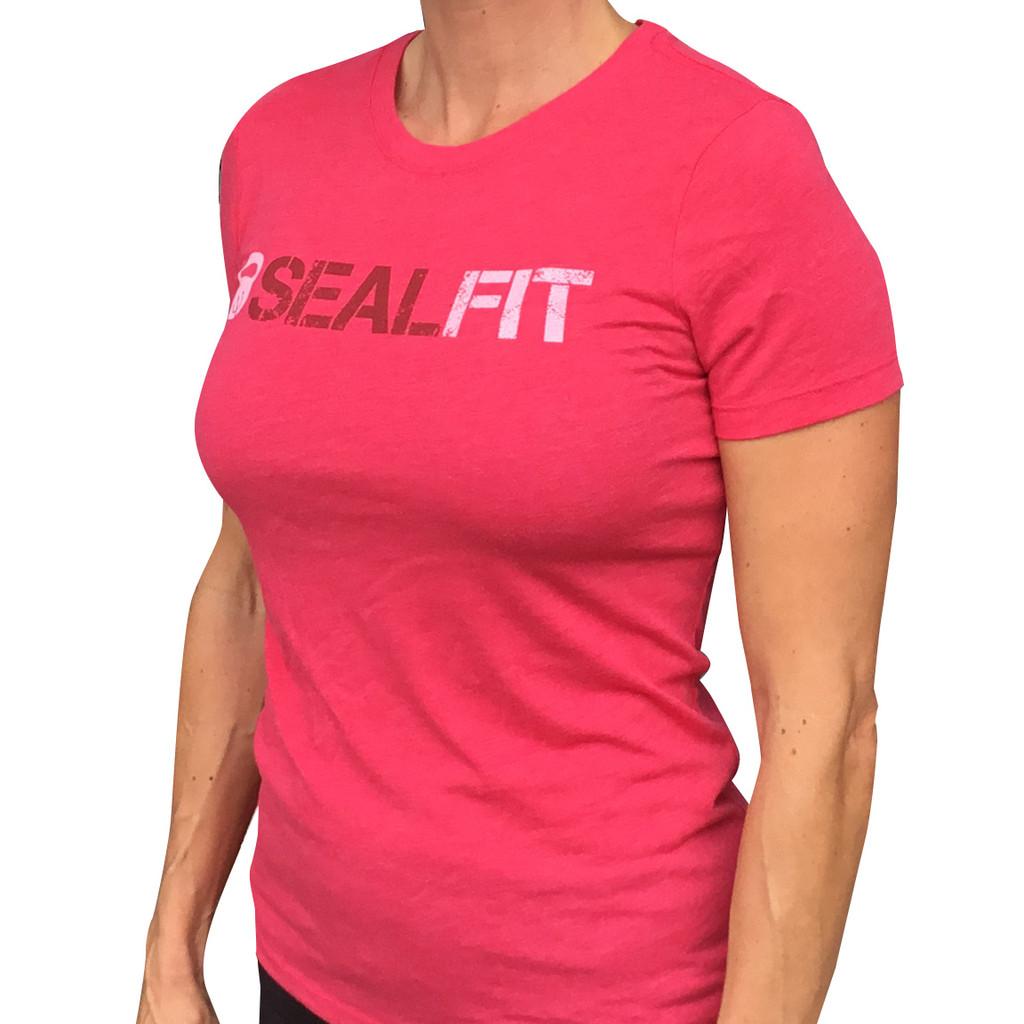 New- Women Hot Pink SealFit Shirt
