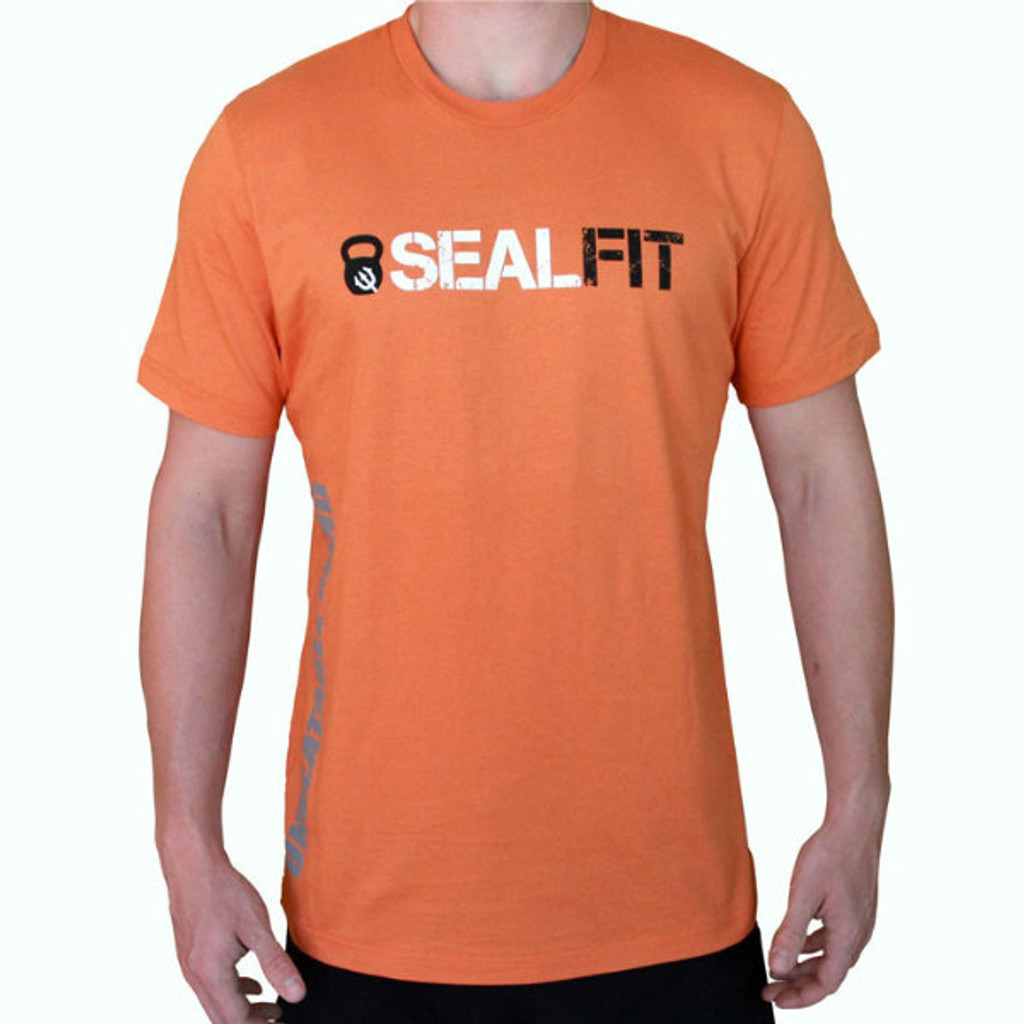 SEALFIT Logo T-Shirt - Orange