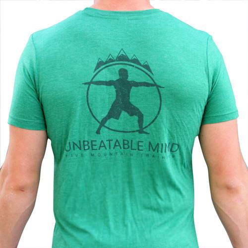 Unbeatable Mind Mens 5 Mountain Tee