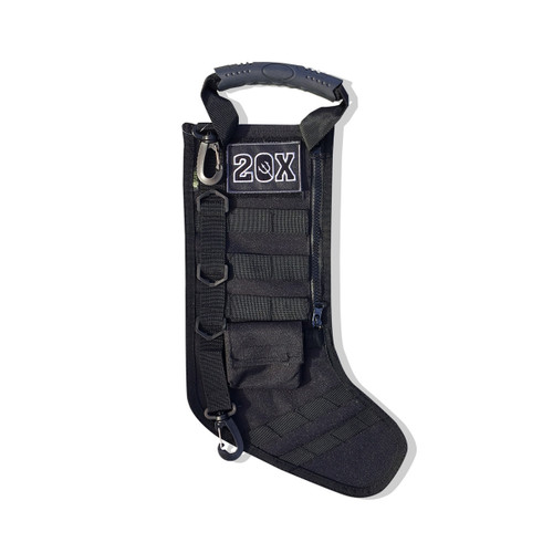 Mini Black Tactical Stocking w/Molle