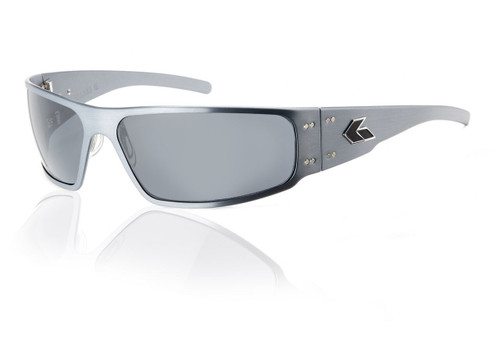 Gun Metal Frame w/ Grey Polarized Lens
