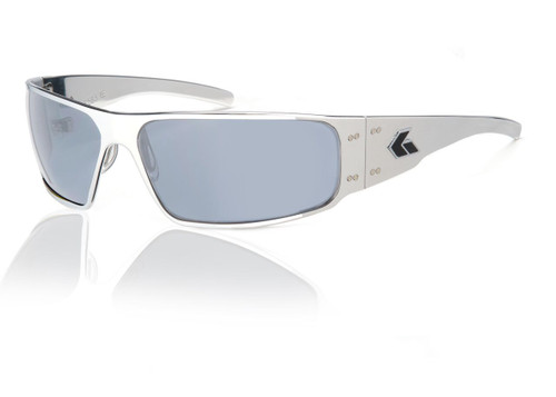 Polished Frame w/ Grey Polarized Lens