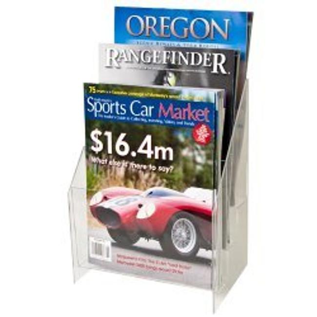 8.5x11 Brochure Holder 3 Pockets 3 Tiers