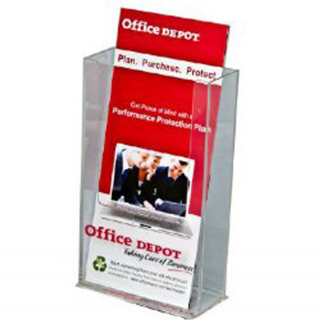 4x9 Upright Brochure Holder