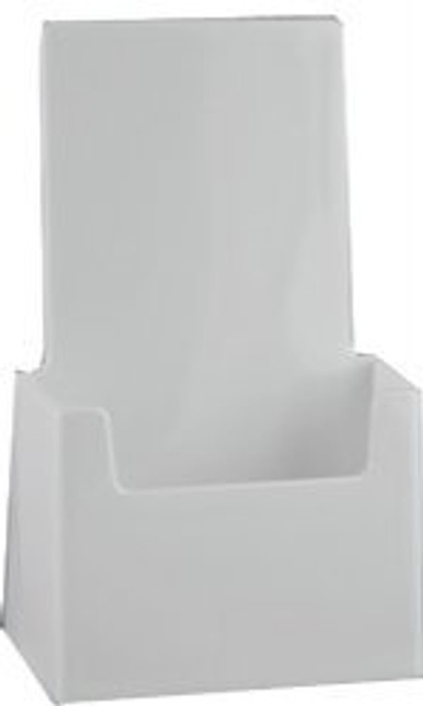 4x9 Tri-fold Top Selling White Brochure Holder