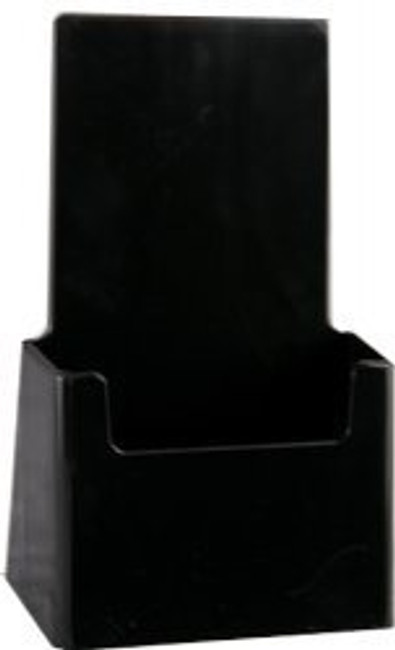 4x9 Tri-fold Top Selling Black Brochure Holder