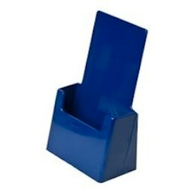 4x9 Tri-fold Top Selling Blue Brochure Holder