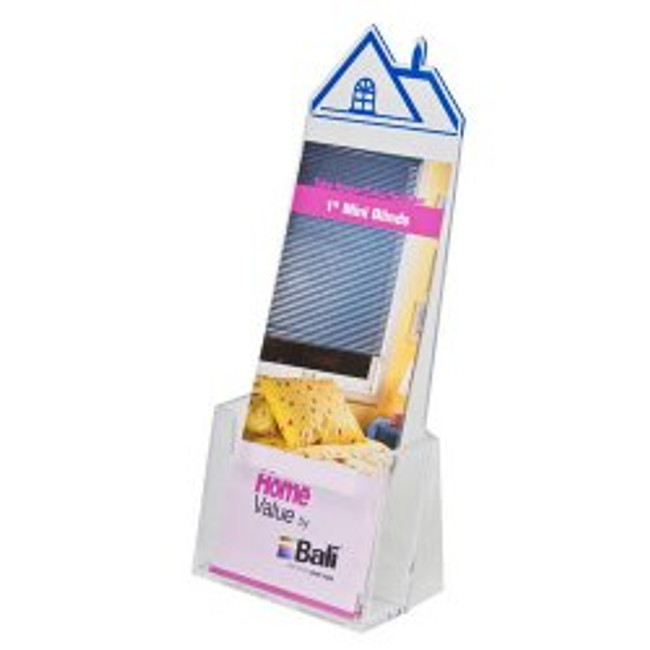 4x9 House Shape Brochure Holder