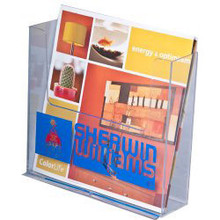 7.5 Literature Wall Mount Brochure Holder