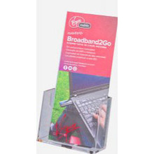 4x9 Angled Wall Mount Brochure Holder