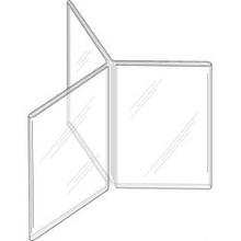 4x6 Three-Panel Six-Sided Sign Holder