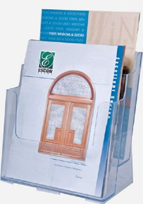 8.5x11 Full Page 2 Tiers Brochure Holder