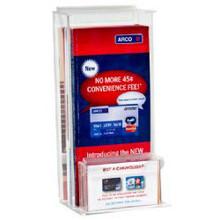 4x9 Outdoor Brochure Holder with Pocket