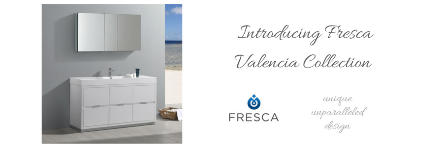 Fresca Valencia Collection  New Fresca Bathroom Vanities