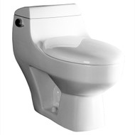The Athena toilet from Ariel Bath is a cutting-edge one-piece design complete with a powerful flushing system. This beautiful, modern toilet will add a contemporary element to your bathroom remodel. The Athena consumes 1.6 gpf and comes with a soft close, non-slamming seat.