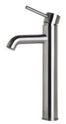 Enjoy the functionality and simplicity of this tall single hole vessel faucet by ALFI brand and create a remarkable bathroom design without going over your budget.