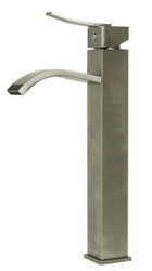 Search no more - this single hole tall bathroom vessel faucet by ALFI brand offers the perfect combination of comfort and style. A curved spout and square body offer an Italian inspired design that fits your budget.