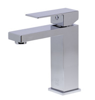 Simple squared edges give this faucet a sleek modern appearance that will help transform your bathroom into a stylish oasis.
