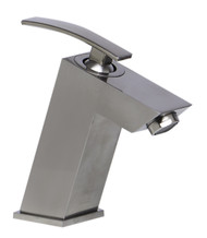 Unique in design and with simple and smooth edges; this faucet represents the essence of elegant modernism in your home.