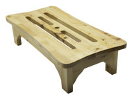 "ALFI brand AB4408 24"" Solid Wood Stepping Stool for Easy Access"