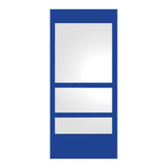 Whitehaus WHE11-BLUE New Generation Mirror with Laminated Colored Glass Border (WHE11-BLUE)