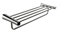 "American Imaginations 24""  Multi-rod Towel Rack in Chrome"