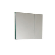 "FMC8090 | Fresca 30"" Wide Bathroom Medicine Cabinet w/ Mirrors"