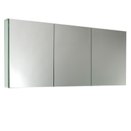 "FMC8019 | Fresca 60"" Wide Bathroom Medicine Cabinet w/ Mirrors"