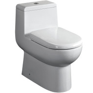 FTL2351 | Fresca Antila One-Piece Dual Flush Toilet w/ Soft Close Seat