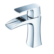 FFT3071CH | Fresca Fortore Single Hole Mount Bathroom Vanity Faucet - Chrome
