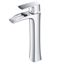 FFT3072CH | Fresca Fortore Single Hole Vessel Mount Bathroom Vanity Faucet - Chrome
