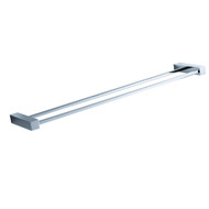 "FAC0439 | Fresca Ottimo 22"" Double Towel Bar - Chrome"