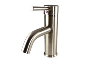 FFT1041BN | Fresca Sillaro Single Hole Mount Bathroom Vanity Faucet - Brushed Nickel